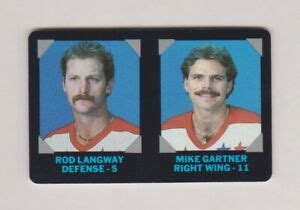 One can use the credit card at shop.nhl.com and get a 10% discount. 1985-86 NHL Credit Card 7-11 Washington Capitals Rod Langway & Mike Gartner   eBay