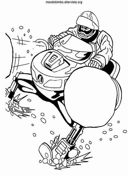 Action Colorare Moto Disegni Neve Coloring Apposta