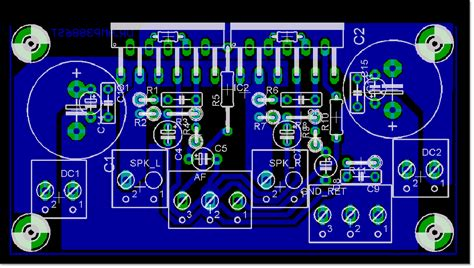 gainclone power amplifier lm