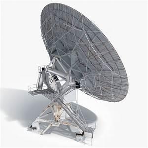 3d model vla radio telescope
