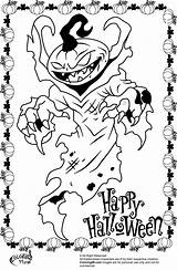 Scary Halloween Coloring Pages Monster Printable Pumpkin Creepy Drawing Pumpkins Clown Colouring Print Icp Adult Cute Designs Happy Printables Getdrawings sketch template