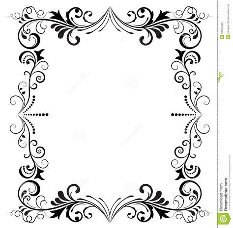 cadre noir et blanc cadre noir et blanc image libre de droits image 31053486