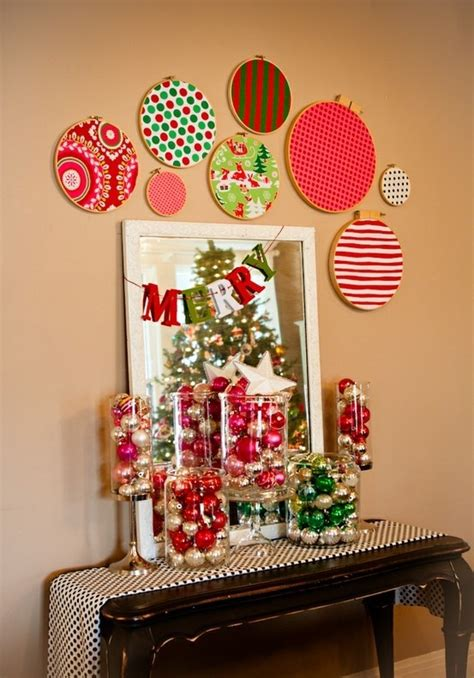 quick easy christmas wall decorations ideas