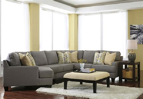 ashley furniture chamberly alloy collection  cuddler