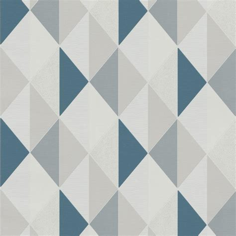 bathroom decorating accessories and ideas teal blue geometric wallpaper by grandeco on3102