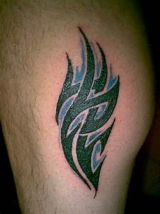 Tattoo Art With Tribal Tattoo Designs Specially Calf ...
