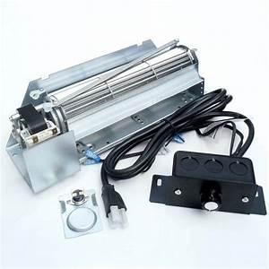 Gas Fireplace Blower Fan Kit Fbk