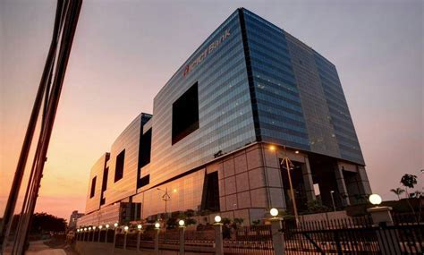 Hafeez Contractor ICICI Bank, Hyderabad   Facade   Hyderabad,