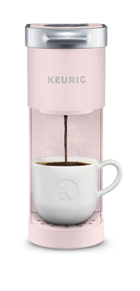Coffee maker, single serve coffee maker for single cup pod & coffee ground, 30 oz removable reservoir, compact coffee machine brewer with 6 to 14 oz. Keurig K-Mini Single Serve K-Cup Pod Coffee Maker, Dusty Rose - Walmart.com - Walmart.com