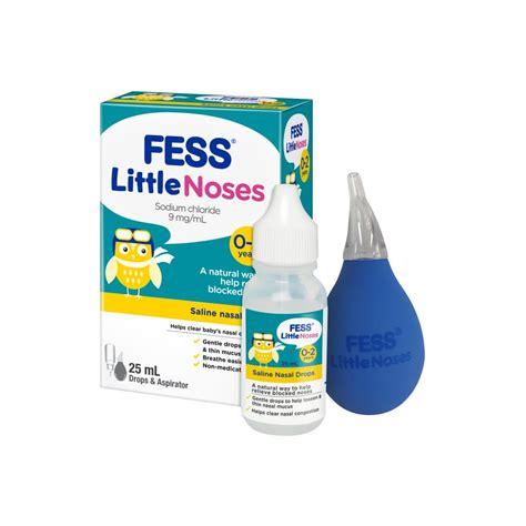 fess  noses drops fess