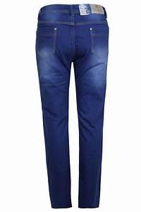 Ladies Womens Plus Size Button and Zip Fastening Straight Leg Jeans | eBay