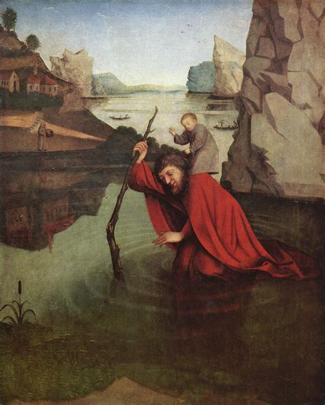 der heilige christophorus konrad witz