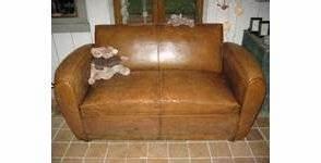 renover un canape en cuir entretenir le revetement With rénover un canapé en cuir griffé