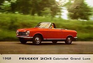 204 Peugeot Coupé : peugeot 204 c prosp ~ Medecine-chirurgie-esthetiques.com Avis de Voitures