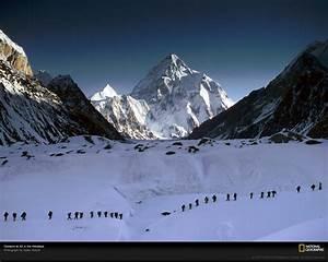 Climbers at K2