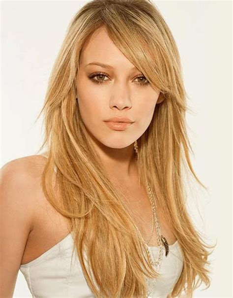 trends hairstyles long layered haircut styles with bangs