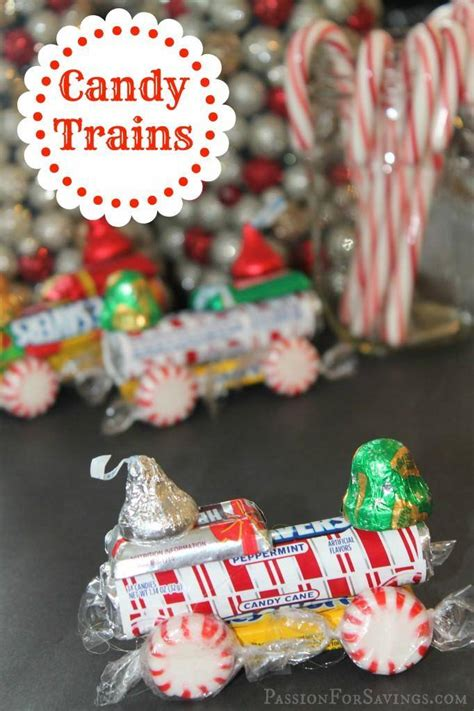 Christmas Crafts For Kids Lifesaver Candy Trains Reindeer