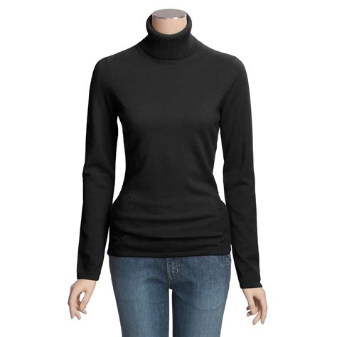 fitted sweaters for womens forte fitted turtleneck sweater for 2873f