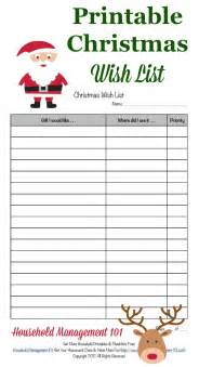 free printable wish list for adults