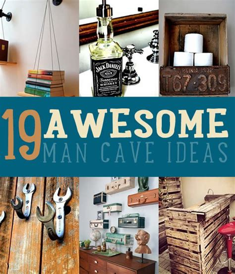 diy wall for guys man cave ideas 19 diy decor and furniture projects