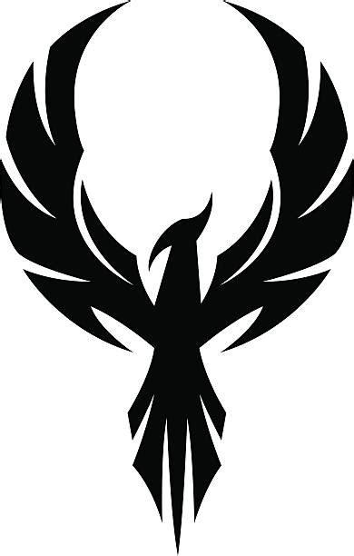 Phoenix Tattoo Illustrations, Royalty-Free Vector Graphics