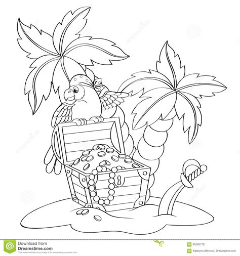 Palm Cockatoo Coloring Pages Sketch Coloring Page