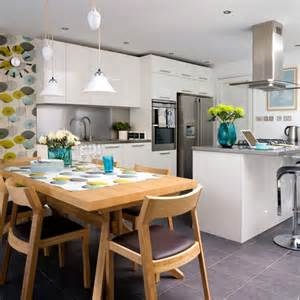 kitchen diner lighting ideas how to create a big kitchen diner