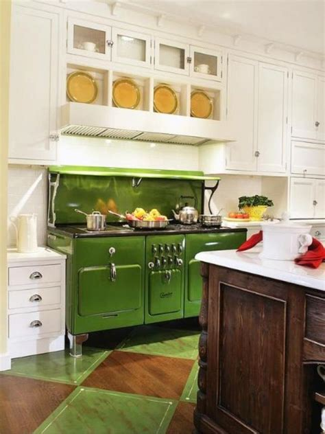 retro kitchen island best colorful kitchen appliances inspirations page 15 of 25 1937