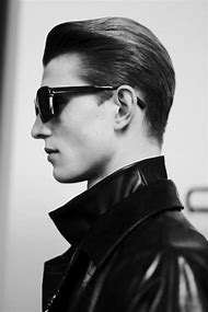 Slicked Back Undercut Hairstyle Men