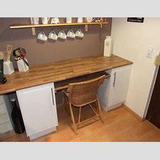 Ausziehbarer Tisch Unter Der Küchenarbeitsplatte Tisch