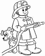 Coloring Hydrant Fire Popular sketch template
