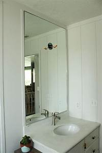 how to professionally install a bathroom mirror With how to install a bathroom mirror