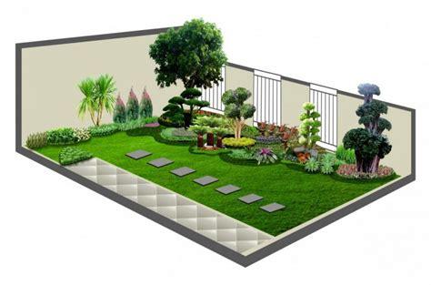 desain taman minimalis simpel sederhana mudah