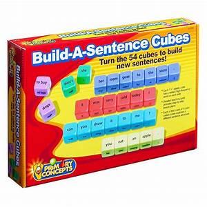 Build A Sentence Cubes