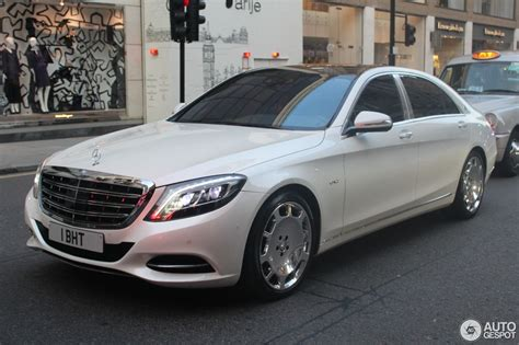 New Maybach 2017 by Mercedes Maybach S 600 X222 29 August 2017 Autogespot