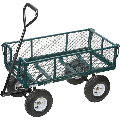 Neuton Motorized Garden Cart  The Best Cart
