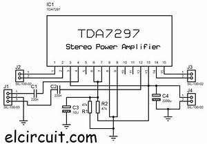 Tda7297 Diy Stereo Power Amplifier In 2020
