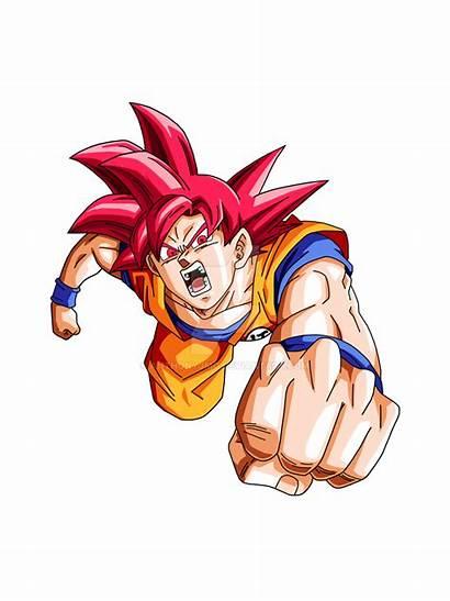 Goku Saiyan God Render Deviantart Manga Drawings