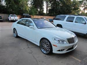 Gallery For > Mercedes S550 White 2007