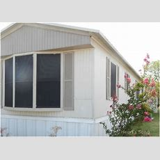 My Heart's Song Mobile Home Exterior  Beforeafter