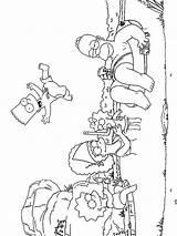 Simpsons Coloring Ausmalbilder Cartoon Malvorlagen Ausdrucken Kostenlos Zum Template sketch template
