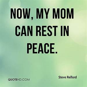 REST IN PEACE MOM QUOTES TUMBLR image quotes at relatably.com