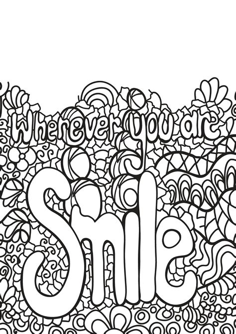 Coloring For You by Free Book Quote 3 Quotes Coloring Pages
