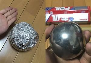 Aluminium Hochglanz Polieren : big in japan b lle aus alufolie zu gl nzenden kugeln polieren ~ Frokenaadalensverden.com Haus und Dekorationen