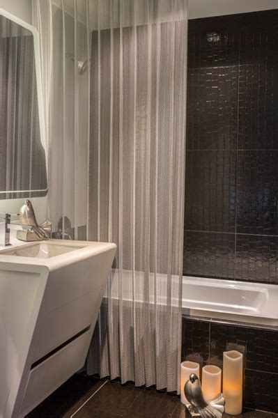 Shower Curtains For Small Bathrooms by 5 Steps To Make Your Small Shower Look Bigger Without
