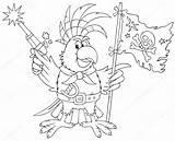 Raft Template Parrot sketch template