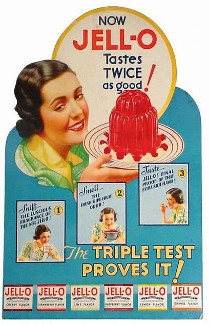 Advertising Jell Ads Retro 1930s Jello Pudding
