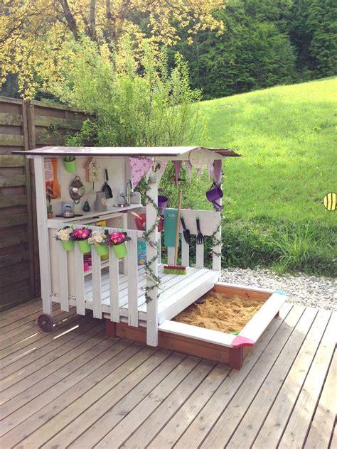 Sandkasten Für Terrasse by Pin Bettina F 252 Hrer Auf Basteln Kinder Garten Garten