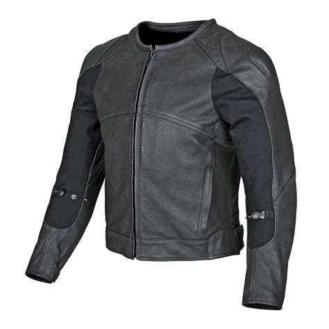 mens leather riding jacket speed strength mens full battle rattle armored leather