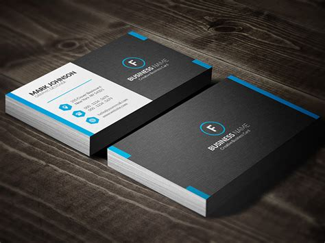 Dark Mosaic Professional Business Card Template » Free